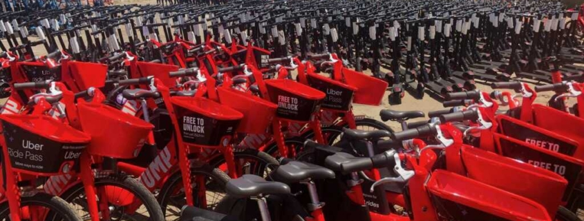 Uber Pulling Fleet Of E Bikes Scooters From San Diego